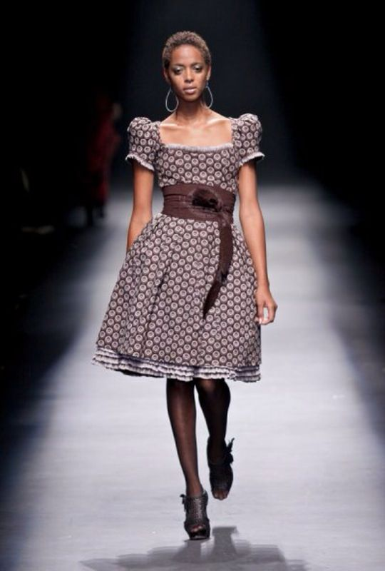 seshoeshoe Sotho material  traditional wedding dress idea