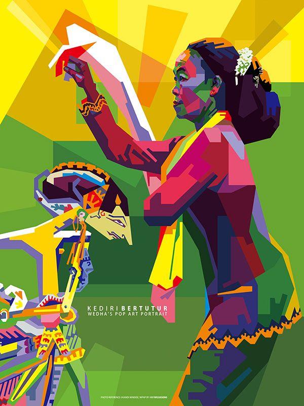 Kolaborasi Wayang Krucil dengan Tari Ledek | Kediri Bertutur | Sendang Pamenang, Kediri  Photo ©Kandi Windoe WPAP by arifW