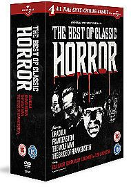Cult Horror Collection (DVD, 2011, 4-Disc Set)