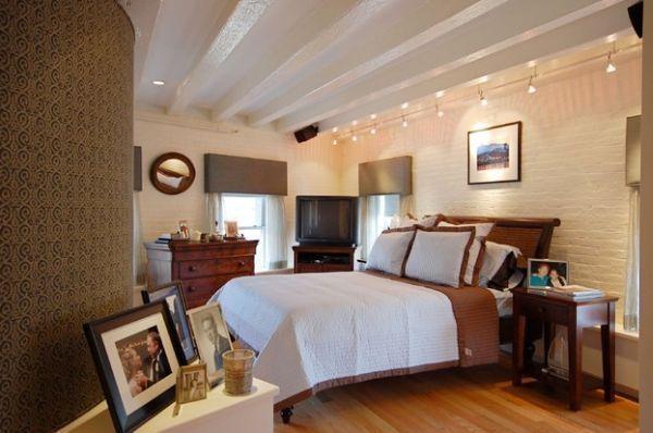 Bedroom Track Lighting Ideas Modern Stylish