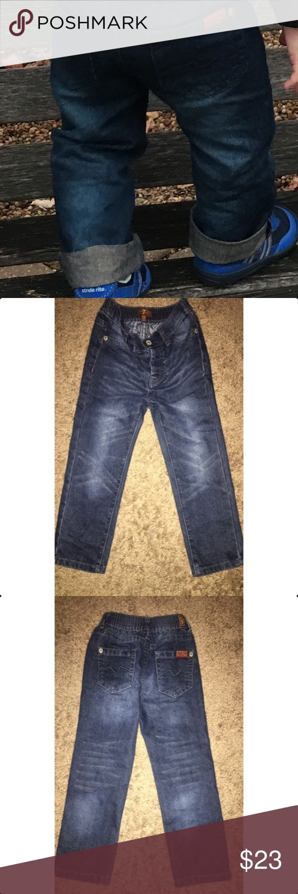 Toddler Boy 7 for All Mankind 24 M Month Jeans Worn once and in excellent condition 24 Month toddler jeans / no stains / no tears / retail for $49.00 (currently regular price) no trades 7 For All Mankind Bottoms Jeans