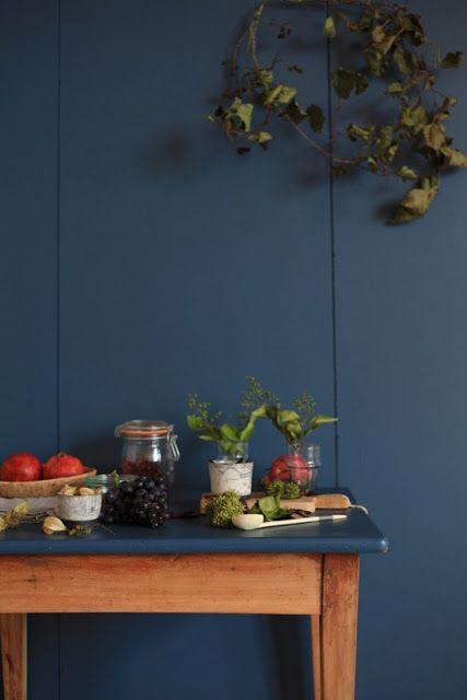 peinture stiffkey blue farrow and ball, love this wall color!