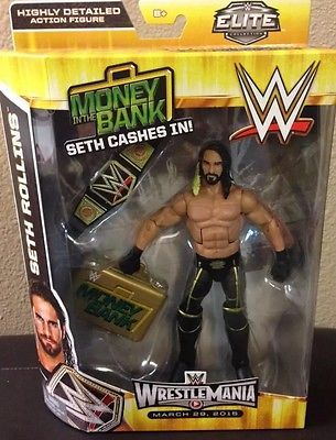 WWE Mattel Elite SETH ROLLINS Action Figure TOYS R US SHIPS ASAP