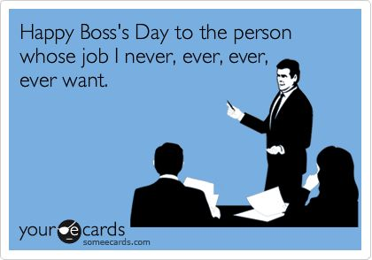I did the work for you.  I found some e-cards you can send your boss.  This year, Boss's Day is on October 17, 2016.  Now you know and you can be sure they won't forget it.  Here you go: Related articles Hilarious Breast Cancer Awareness E-cards (womanlywoman.com)