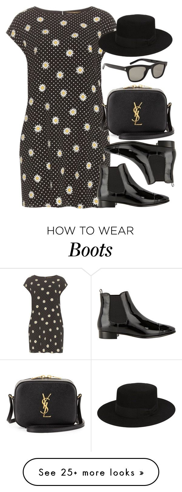 """""""Style #9899"""" by vany-alvarado on Polyvore featuring Yves Saint Laurent and Prada"""