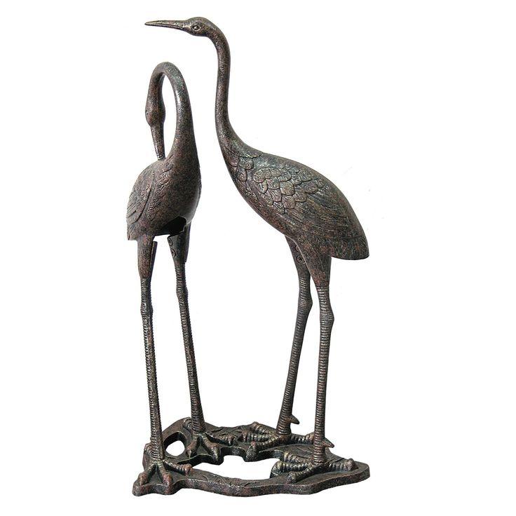 Have to have it. Heron Garden Statue - $135.97 @hayneedle