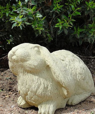 With Easter Just Around The Corner, A Festive Garden Deserves A Few Bunny Approved  Pieces. The Addition Of This Sweet Rabbit Statue Will Put A Springu2014or ...