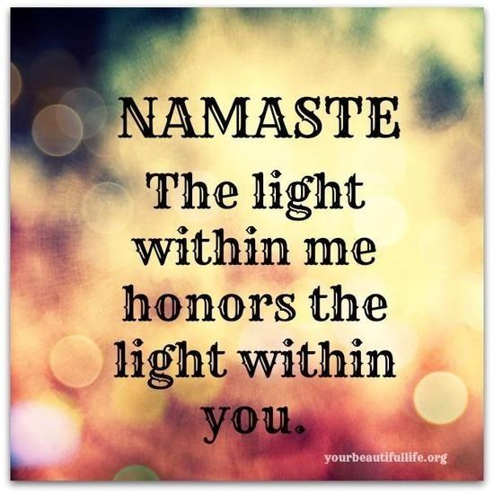 Namaste www.facebook.com/yourbeautifullife