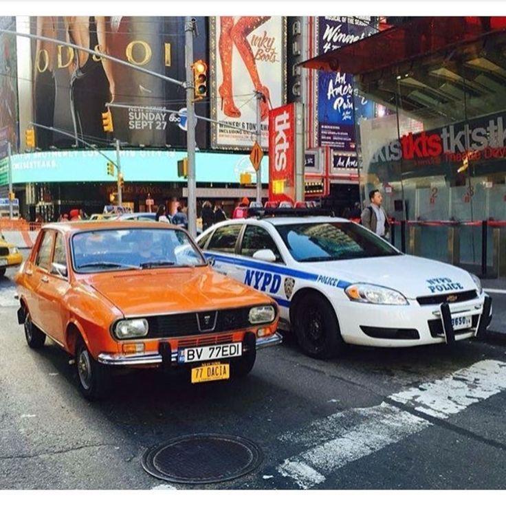 Cars, Old Cars, Dacia