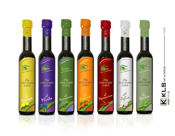 Label - Olio aromatizzato Lugori