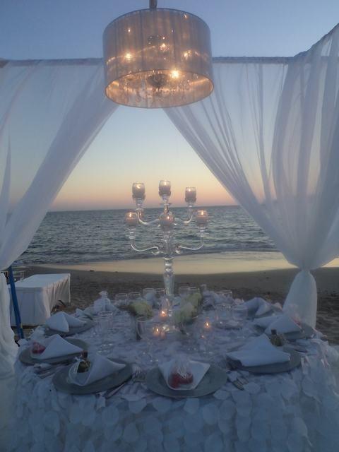 Centros de mesa para boda en la playa originales y - Centros de boda originales ...