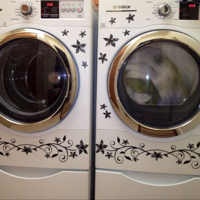 Applied to a Washer and Dryer