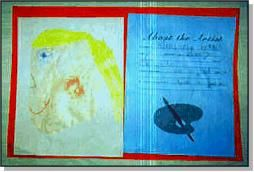 About the Artist. The Art Book Page Eight, About the Artist: Portfolio Assessment and Art Lessons for Kids: KinderArt ®