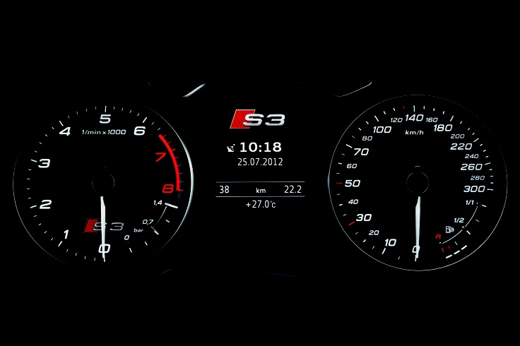 2014 Audi S3 with the 2.0 TFSI Engine that can Generate Power 300 hp at 5,500 rpm