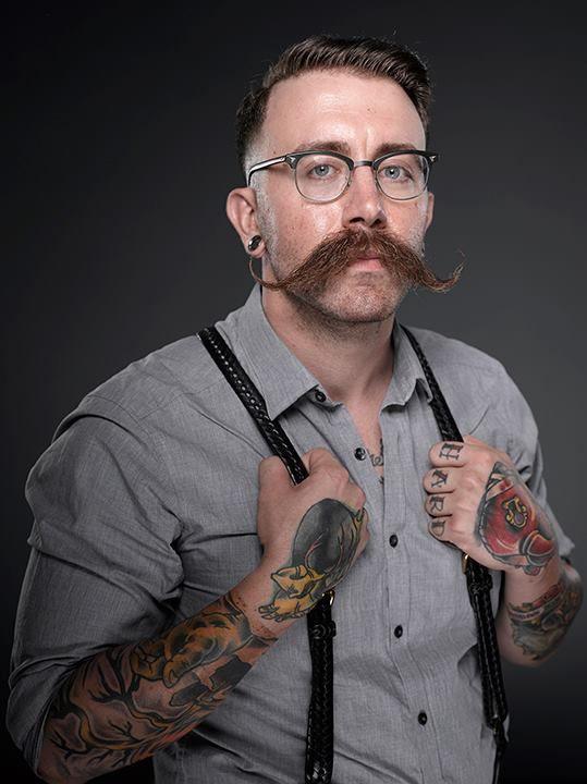 Adam Consalvo... (2013 Beard And Mustache Championships)
