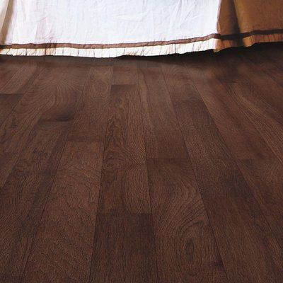"Mohawk Randhurst Map SWF 3-1/4"" Solid Hickory Hardwood Flooring in Sable"