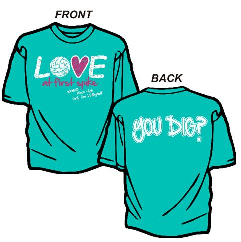 Volleyball team shirt!! Love it so much! @Lakyn Smith we need this!!!