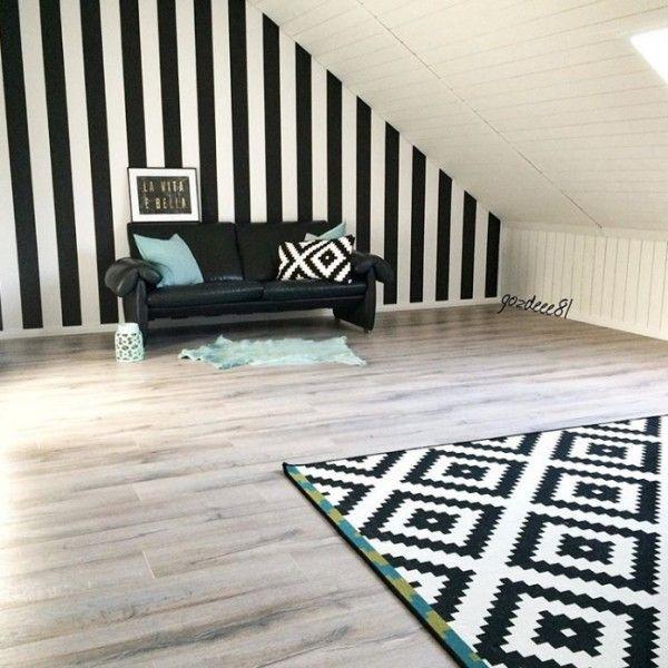 Ev Gezmesi - Gözde hanımın dekorunda kararsız olduğu çatı katı odası..