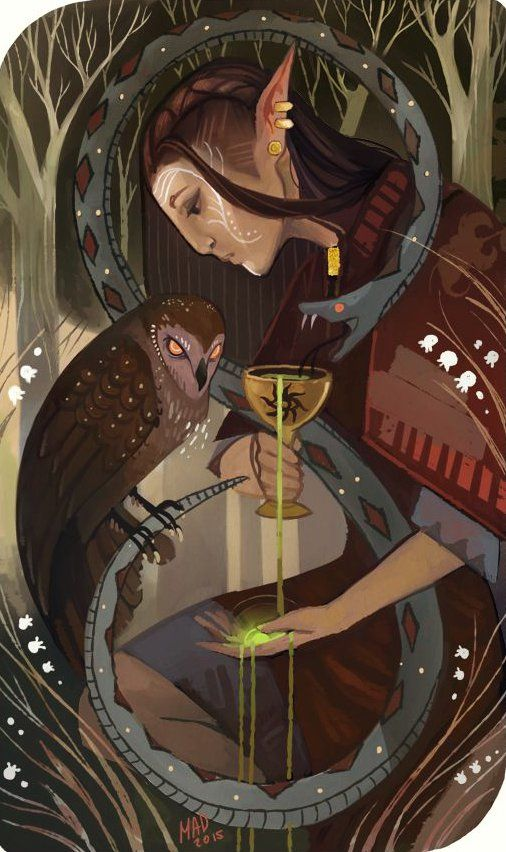 Dragon Age: Inquisition - elf-Inquisitor, by madnessdemon