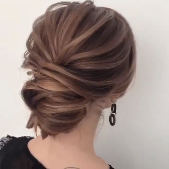 Beautiful Hairstyles By: @alinahairstyle_