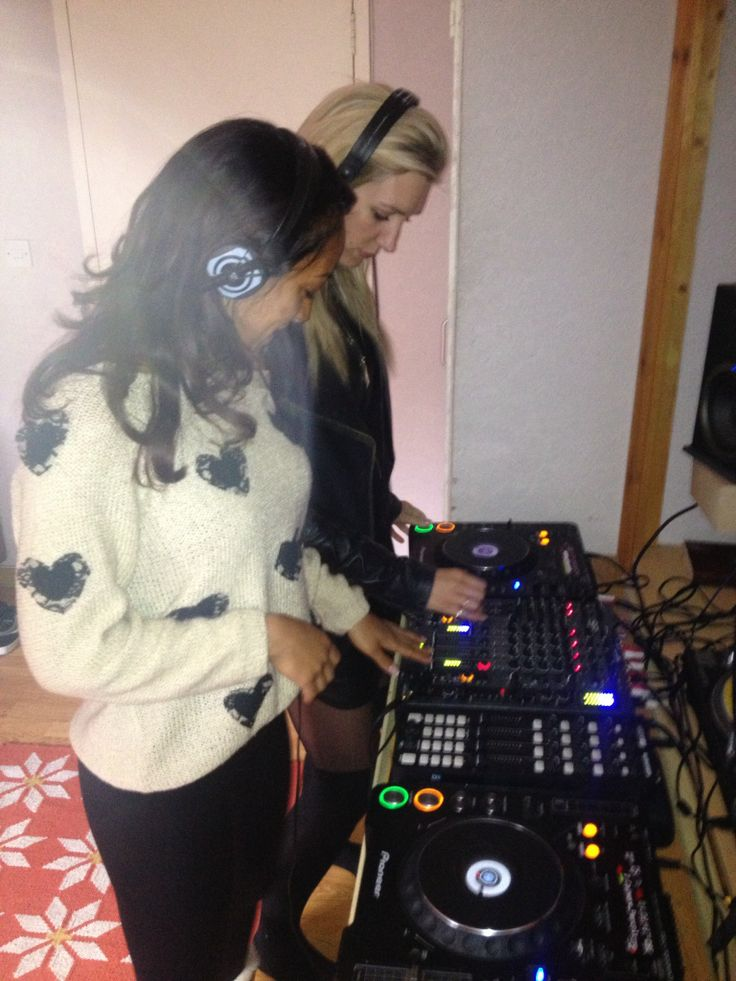 First time on the decks together... Magical!