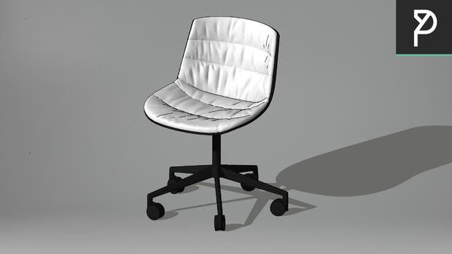 Large preview of 3D Model of Chair - AM121 018