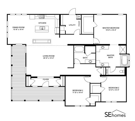 21 best Triple Wide Floor Plans images – Clayton Double Wide Homes Floor Plans