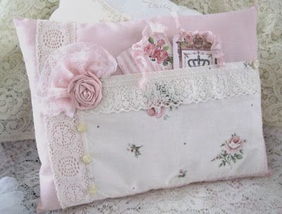 Handmade Shabby Chic Pillows : Handmade shabby chic pillows Pretty Pillows, Slip covers, Drapes & Lampshades Pinterest ...
