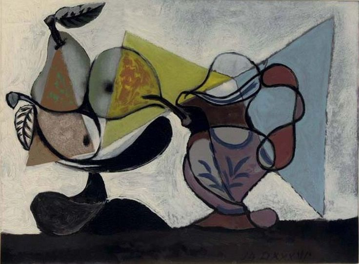Pablo Picasso. Still Life with Fruit. 1939