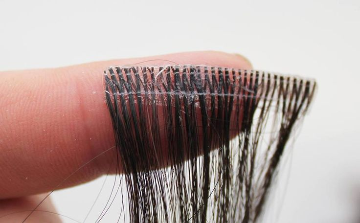 how to clean and re tape extensions