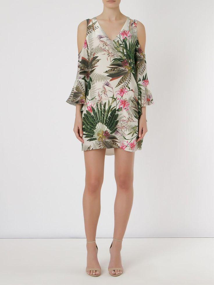 Bobstore Vestido De Seda Estampado - Inbrands - Farfetch.com
