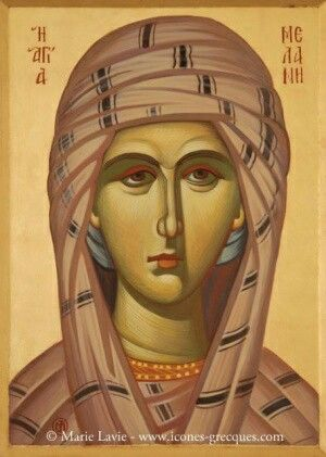 Saint Melanie of Rome(31 december)
