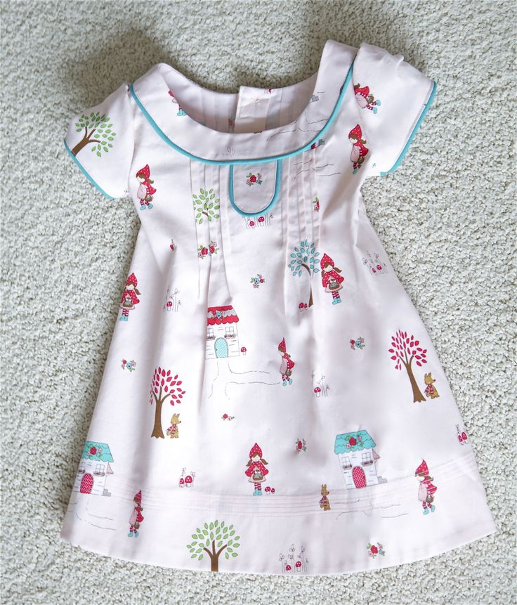 Oliver and S pattern, family reunion dress.