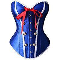 Sailor Halloween Costume Idea, Corset ca. $19
