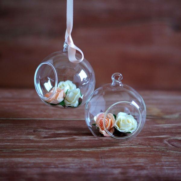 Высококачественные искусственные цветы, Декор, Искусственные орхидеи, Искусственные гортензии, Головы цветов, Стеклянные шары, Подвесные вазы.