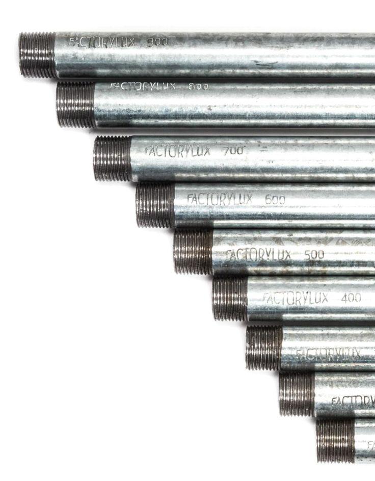 Galvanised conduit