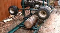 Cool DIY Project : How to build a Homemade Saw Mill Out of an Old Golf Cart. Very Clear Instructions !!   Practical Survivalist   Page 2