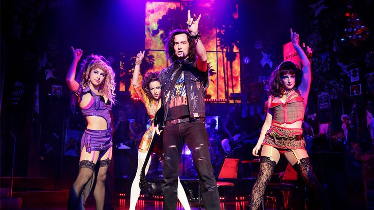 Constantine Maroulis As Drew And The Ladies Of Rock Of