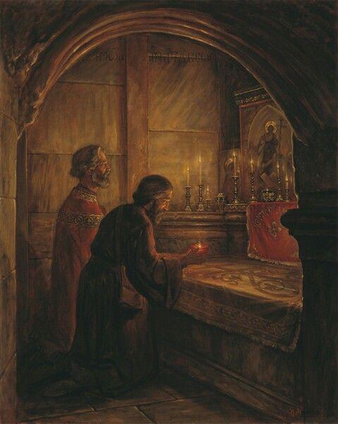 """Pilgrimage of Danylo, Hegumenfrom the Land of the Rus, to the Holy Sepulchre"" - Igor Mashkov"