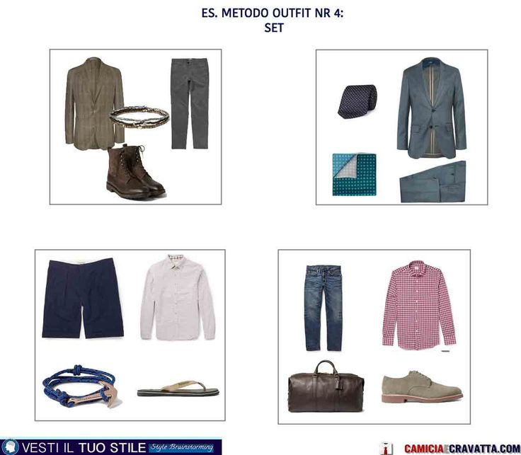 METODO OUTFIT A SET