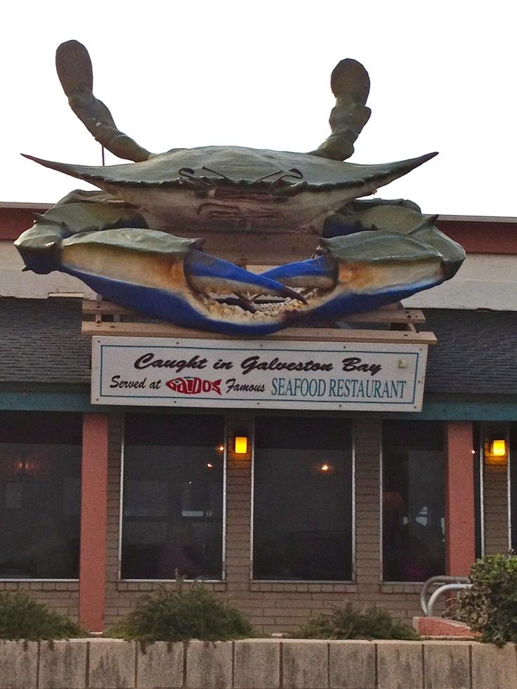 Our favorite restaurant in Galveston - Gaido's!!