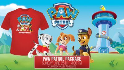 Brooklyn Cyclones To Host Nick Jr. Day Ft. PAW Patrol On Sunday June 25th
