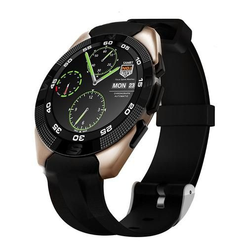 Ultra Thin Waterproof Bluetooth Smart Watch With Fitness/Heart Rate Tracker & SMS Call Reminder