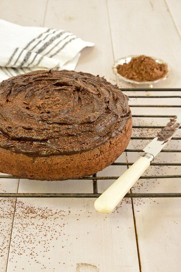 Delicious Chocolate Cake recipe suitable for Healthy Eating, Diabetic, Low Carb, Banting, Keto & LCHF diets. Gluten free, grain free & no added sugar.