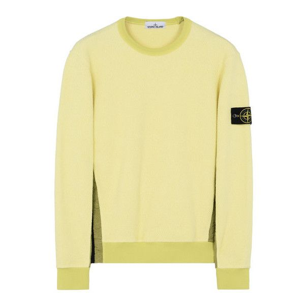 Sweatshirt Stone Island Men - Official Store ($470) ❤ liked on Polyvore featuring men's fashion