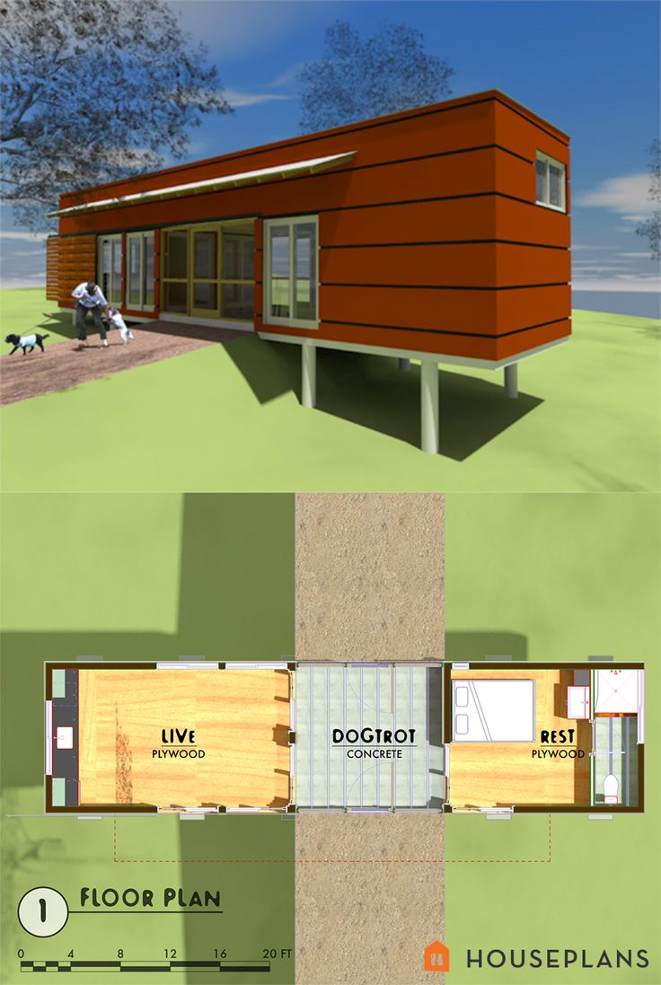 31 best tiny house plans images on pinterest tiny cabins for Modern cabin floor plans