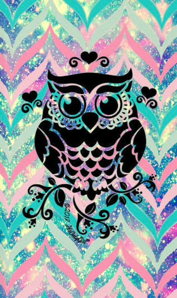 Sweet owl tribal galaxy iPhone/Android wallpaper I created for the app CocoPPa. #cocoppa #iPhone #android #phonewallpaper #wallpaper