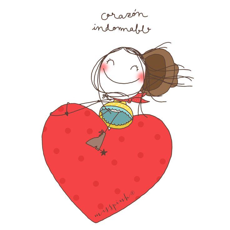 Deja a tu corazón sentir libre y salvaje. www.misspink.es