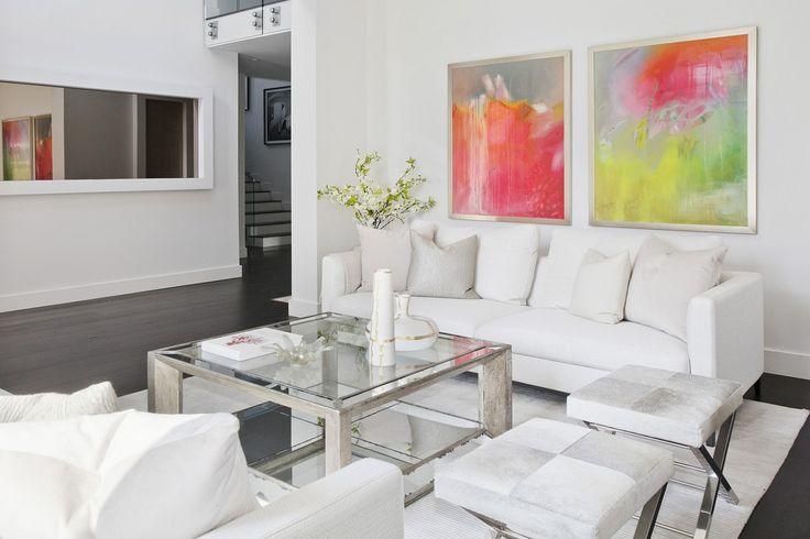 Sloane Row Home Staging + Interior Design | Drexel Ave, Mid City West