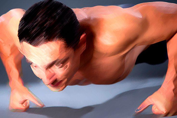 35 видов отжиманий https://mensby.com/sport/muscles/6279-best-push-up-exercises-bigger-chest  Питер Карвелл показывает 35 лучших упражнения для тренировки в домашних условиях мышц груди. Упражнения для внушительных и массивных мышц грудной клетки!